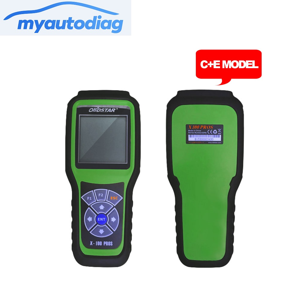 2017 Free Shipping OBDStar Auto Key Programmer X100 PROS C + E model Including X200 Scanner Function x-100 pros in Stock