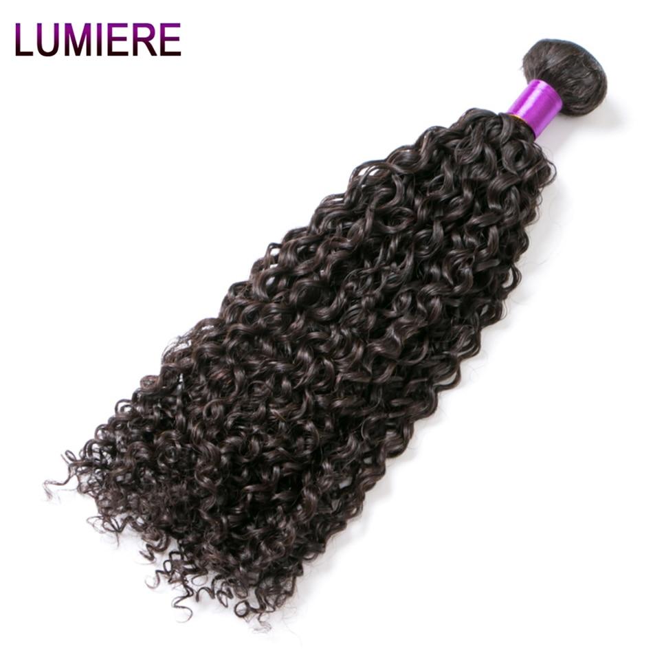 Afro Kinky Curly Hair Malaysian Curly Hair Bundles Lumiere Hair Malaysian Kinky Curly 3 Bundles Deal 100% Human Hair Bundles