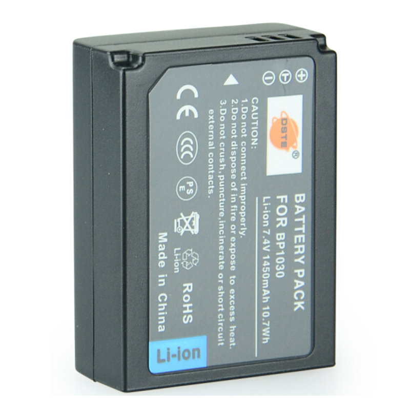 DSTE BP1030 BP-1030 Rechargeable <font><b>Battery</b></font> for <font><b>Samsung</b></font> NX200 NX300 NX1000 NX210 NX2000 NX300M <font><b>NX1100</b></font> NX500 Camera image