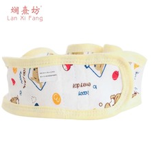 1PCS/SET Baby Diapers Fixed Belt Simple Cotton Printing Buckle Adjusted Size Baby Products Safety Pin Elastic Band