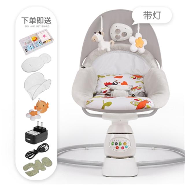 Bebé mecedora silla de bebé cuna silla calmante De La bebé es artefacto duerme el bebé recién nacido durmiendo mecedora cuna