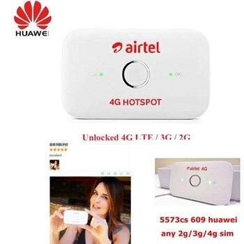 HUAWEI E5573cs-609 4G LTE Cat-4 Mobile WiFi Wireless Hotspot Router Modem UNLOCKED