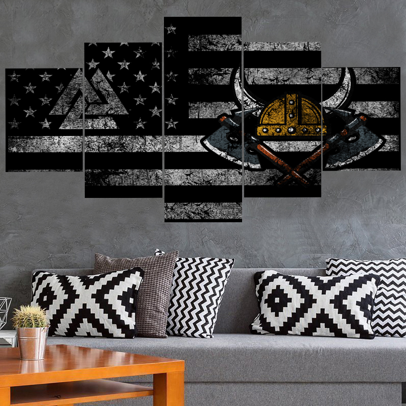 HD Prints Game Cartoon <font><b>Logo</b></font> <font><b>Poster</b></font> Canvas Painting Calligraphy Wall Art Oil Painting On Canvas Patriots Painting Calligraphy image