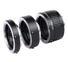Viltrox Металл Маунт Автофокус AF Макрос Удлинитель Адаптер для Объектива Canon EOS 760D 750D 700D 650D 600D 60D 70D 5D II 7D DSLR
