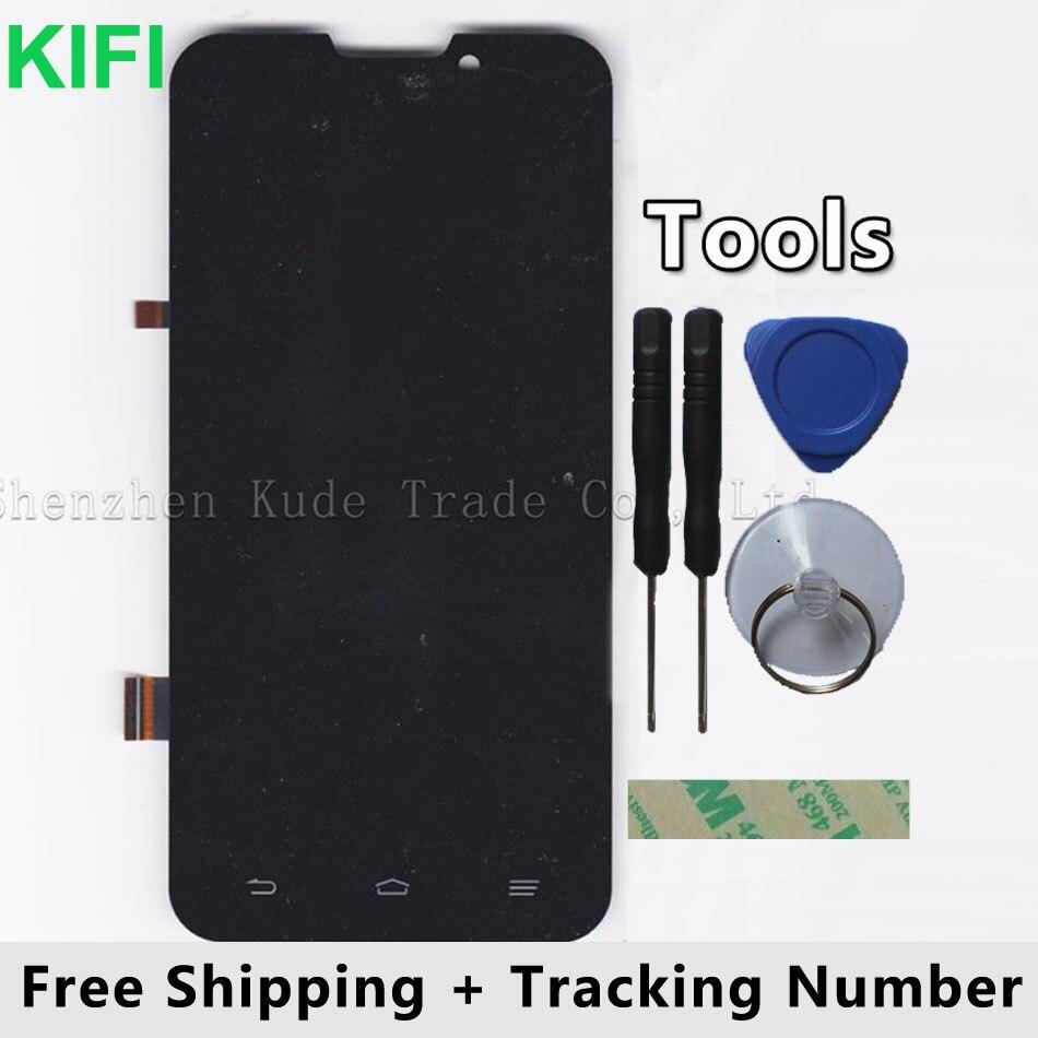 KIFI 100% QC PASSER LCD Display + Écran Tactile Digitizer Panneau de Verre Pour ZTE Grand-x Quad V987
