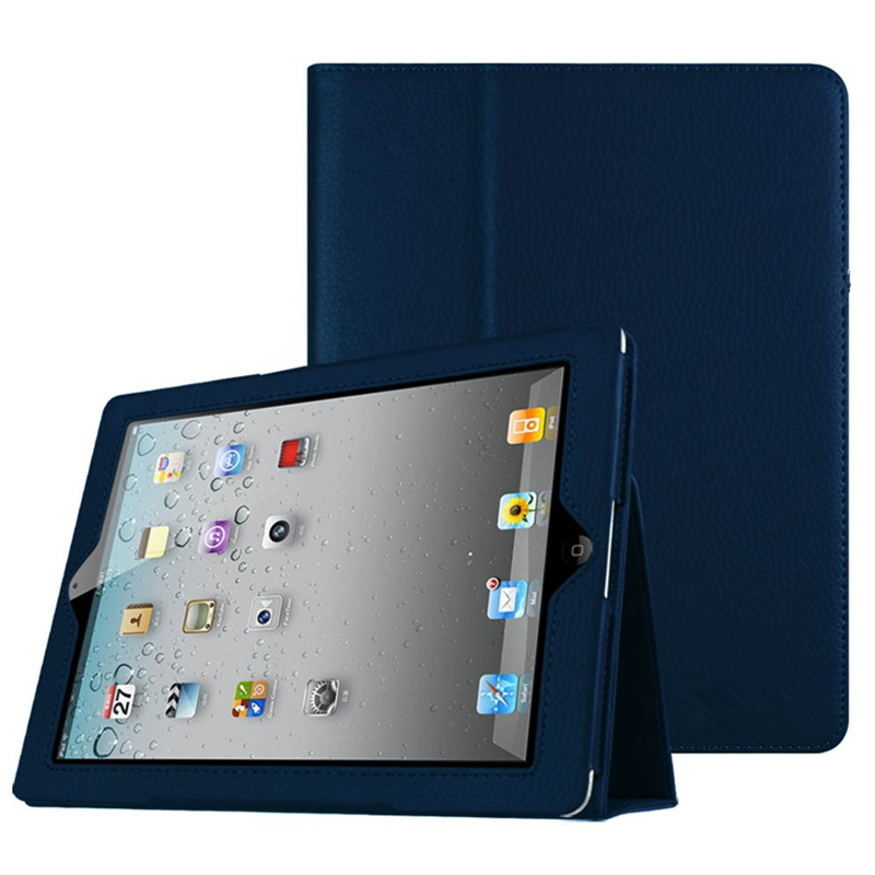 Case For Apple IPad 2 3 4 Slim Fit Folio Stand Case Smart Protective Cover Auto Sleep / Wake Feature For IPad 2/3/4 Generation