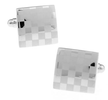 Business law cufflinks square small lattice drawing cufflinks nail spot spot mixed batch