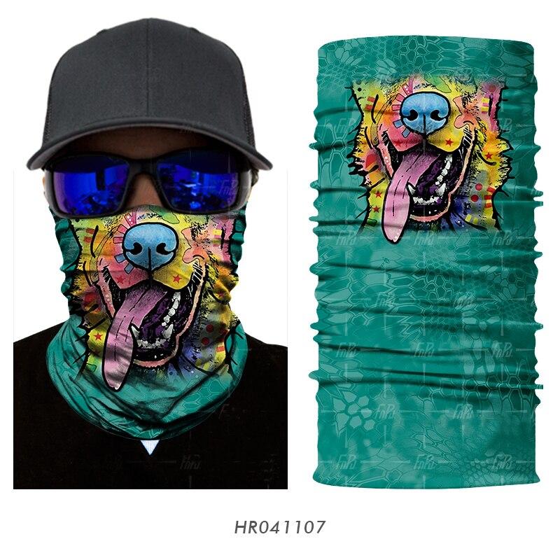 Magic Headwear Live Life Colors Outdoor Scarf Headbands Bandana Mask Neck Gaiter Head Wrap Mask Sweatband