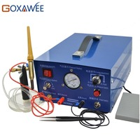 GOXAWEE 220V Spot Welders Argon Sparkle Welder Jewelry Making Tool Machine 90W 50A Argon Gas Spot Welding Machine Sparkle Welder