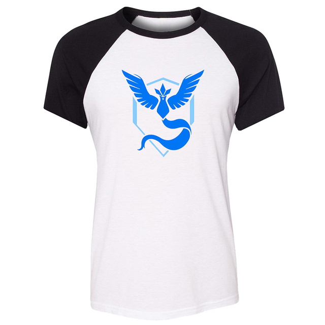 Pokemon Go Game Fans Red Blue Yellow Team Pokemon Alakazam Design Womens Ladies Print T Shirt Graphic Tee Shirt Cotton Tshirts T Shirts Aliexpress