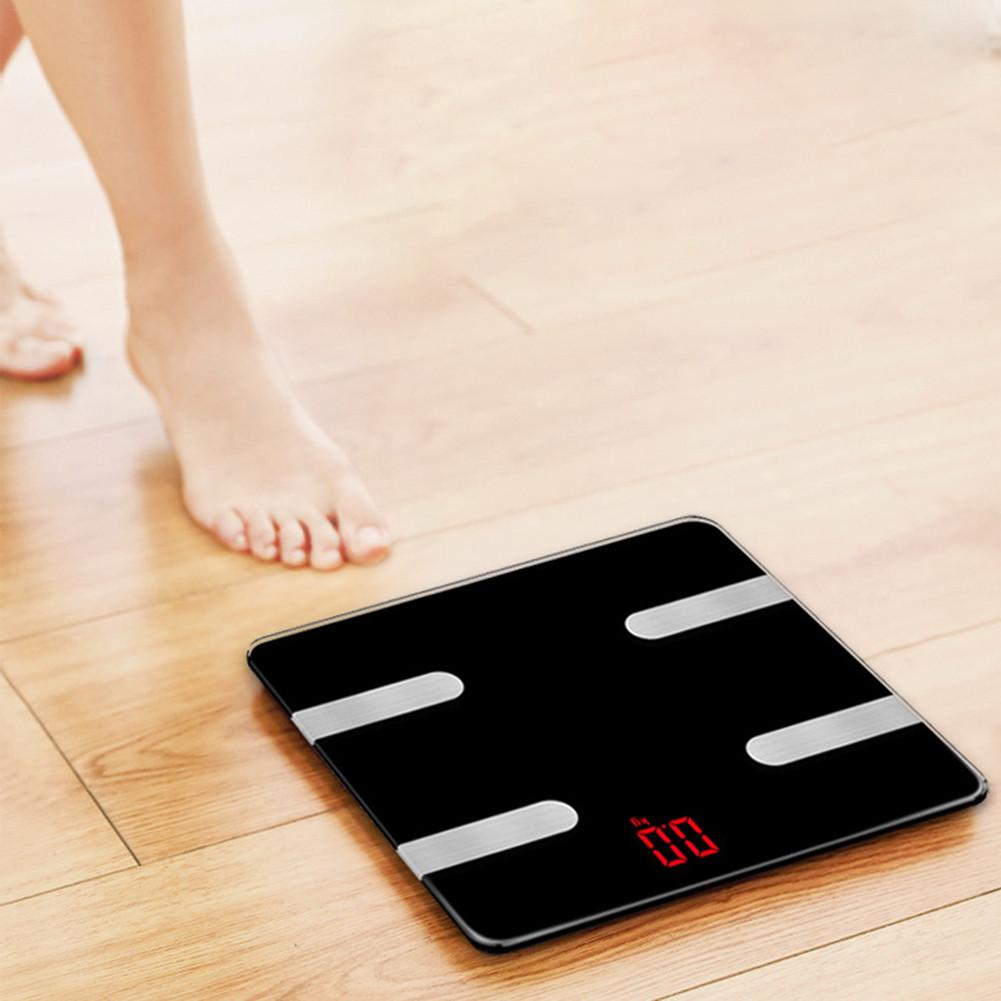 CHUWUJU Smart Digital Bluetooth Weight Body Fat Electronic Scale Without Batteries