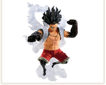 14cm One Piece Gear fourth Monkey D Luffy Snake form Action figure toys doll Christmas gift with box