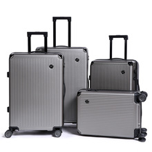ZYJ для мужчин и женщин бизнес путешествия чемодан на колесиках унисекс сплав прокатки самолета чемодан Spinner Колеса Чемодан багажник