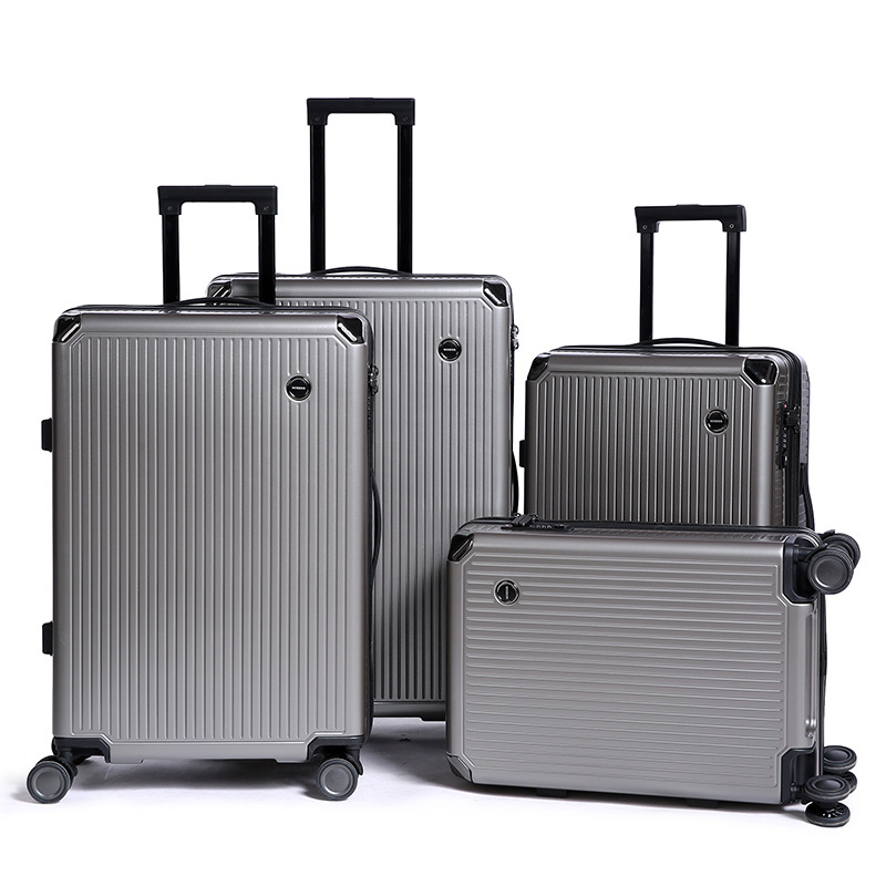 ZYJ hommes femmes affaires voyage chariot bagages unisexe alliage roulant avion valise Spinner roues bagages coffre
