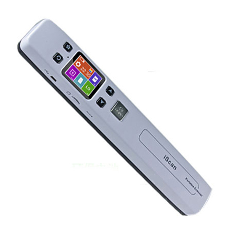 Prix pour Sans fil WIFI Scanner Portable A4 taille soutien JGP / PDF documents haute vitesse du Scanner 1050 DPI le soutien TF carte de 32 GB