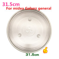 Microwave Parts 31 5cm Microwave Oven Glass Plate For Galanz Midea Etc Microwave Oven Parts Cover