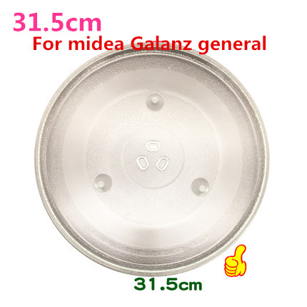 microwave parts 31.5cm Microwave Oven Glass Plate  for Galanz  Midea etc.  Microwave Oven Parts  cover for a microwave oven