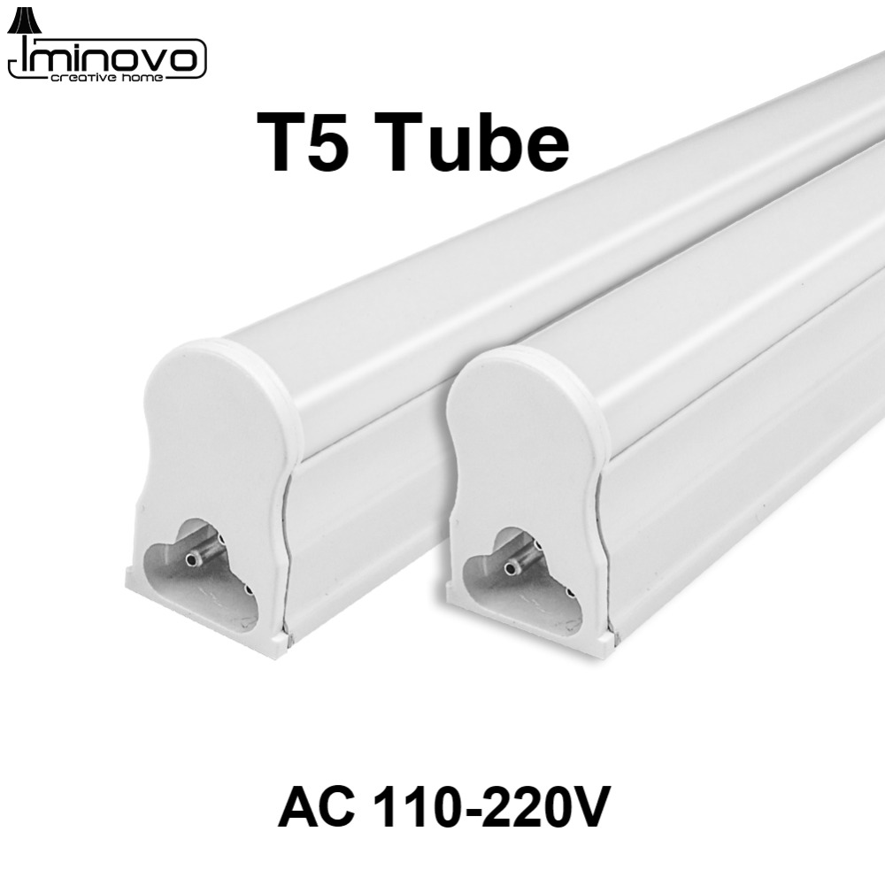 LED T5 Tube Fluorescent Integrated Light T8 Bulb 30CM 60CM 1FT 2FT Wall Lamp Lampada Ampoule Cold White 110V 220V 240V 6W 10W led lamp e27 led bulb 220v 230v 240v led lampada cold white 18w 24w 36w 50w cold white led light spotlight lamp free shipping