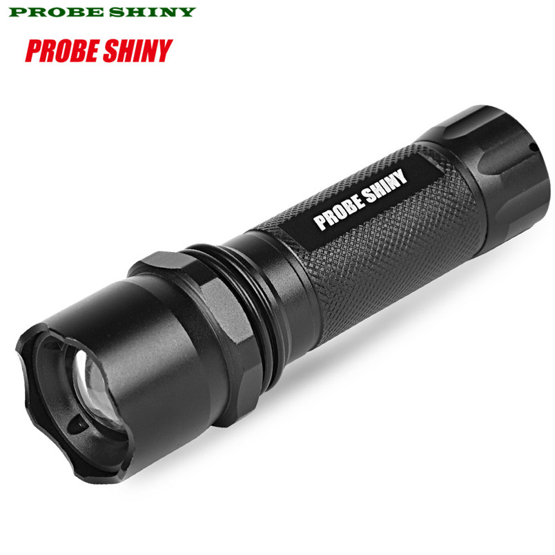 HOT!!! 5000LM Q5 AAA 3 Modes ZOOMABLE LED Flashlight Torch Super BrightCost-effective Free Shipping #NO20
