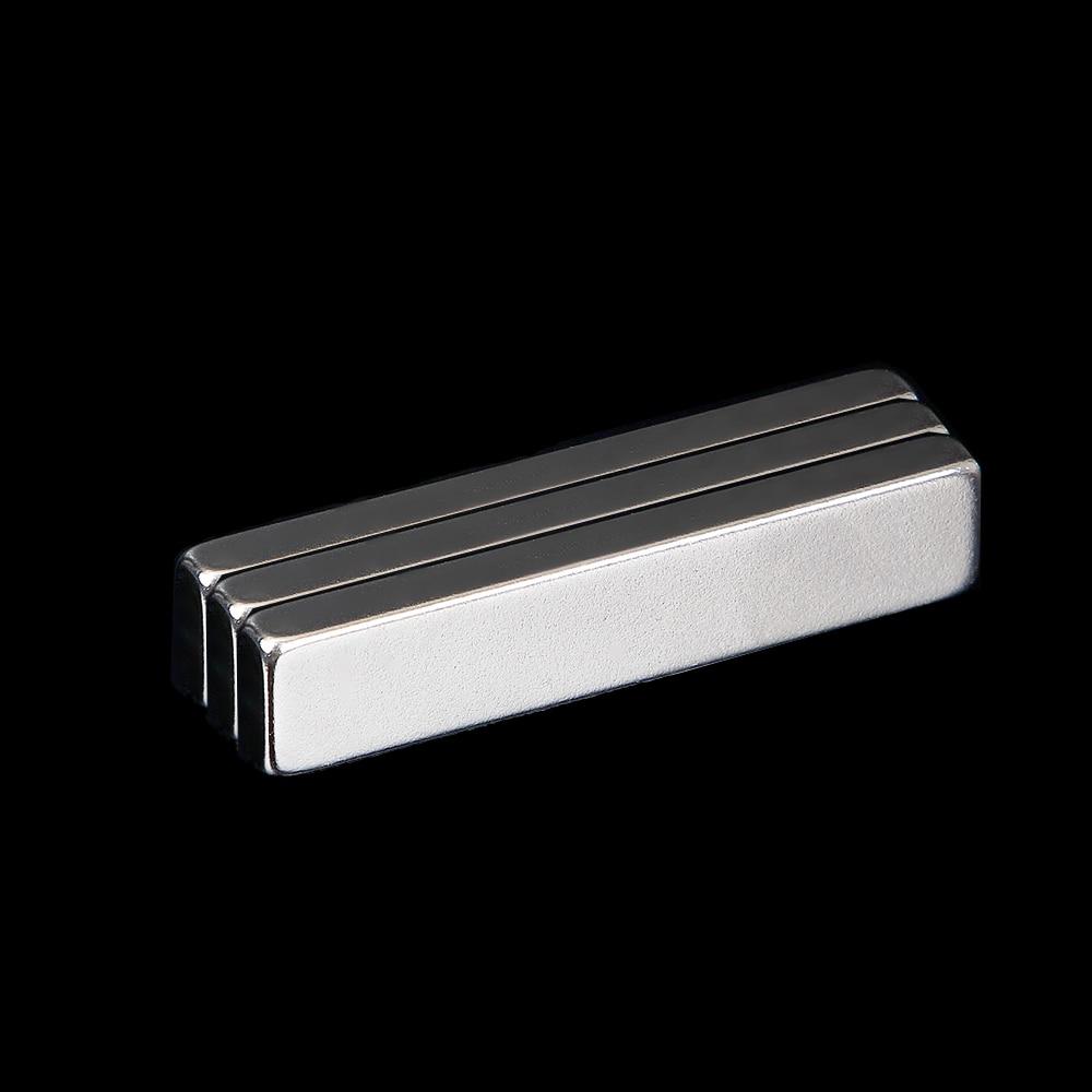 N50 Super Strong Long Block Bar Magnet 50 x 10 x 5 mm Rare Earth Neodymium Craft