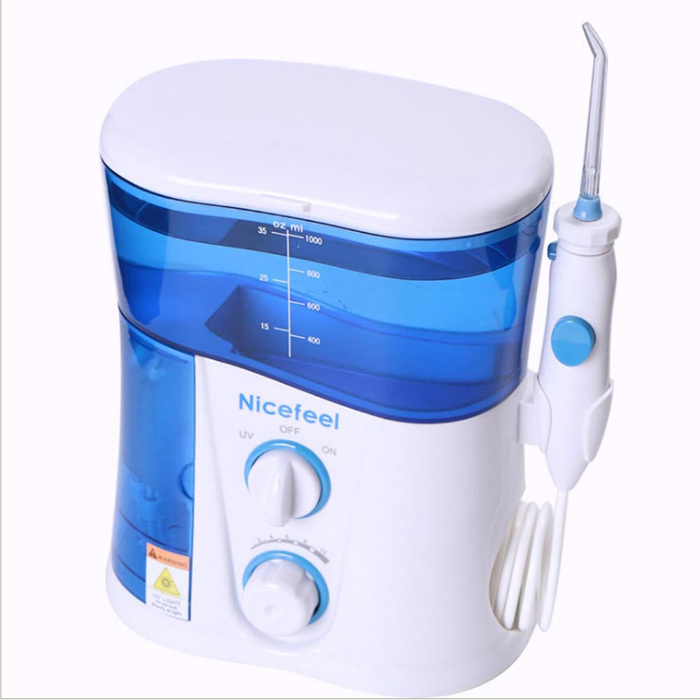 EU/US/UK Plug Portable Oral Irrigator Air Dental Flosser Power Water Jet Family Pack Teeth Cleaner Toothbrush Care edtid 12kgs 24h portable automatic ice maker household bullet round ice make machine for family bar coffee shop eu us uk plug