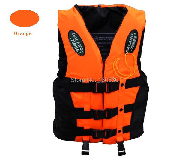Professional swimming vest, rafting, fishing and diving suit, take a whistle