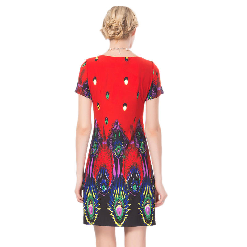 Partie D'été De Rouge Imprimé Femmes Marque 2017 Taille Conception Plus Lulu Bureau Haute Max Mode Robes Vêtements Robe Qualité wfS4WqB