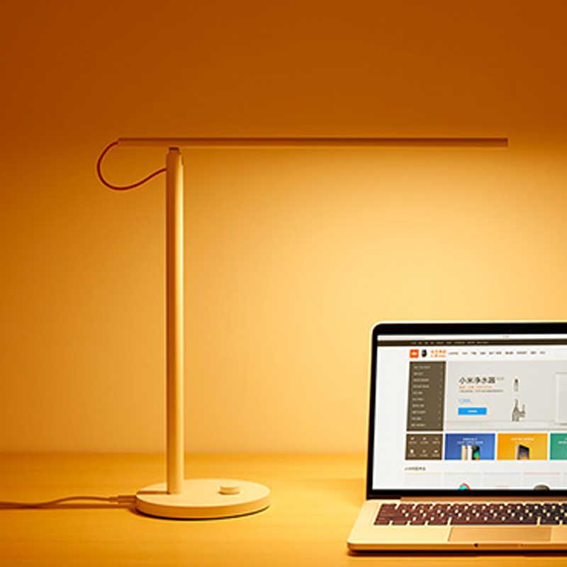 Оригинальный Xiaomi Mijia светодиодный настольный светильник, умные настольные лампы, поддержка мобильного телефона, управление приложением, 4 режима освещения, светодиодный для чтения