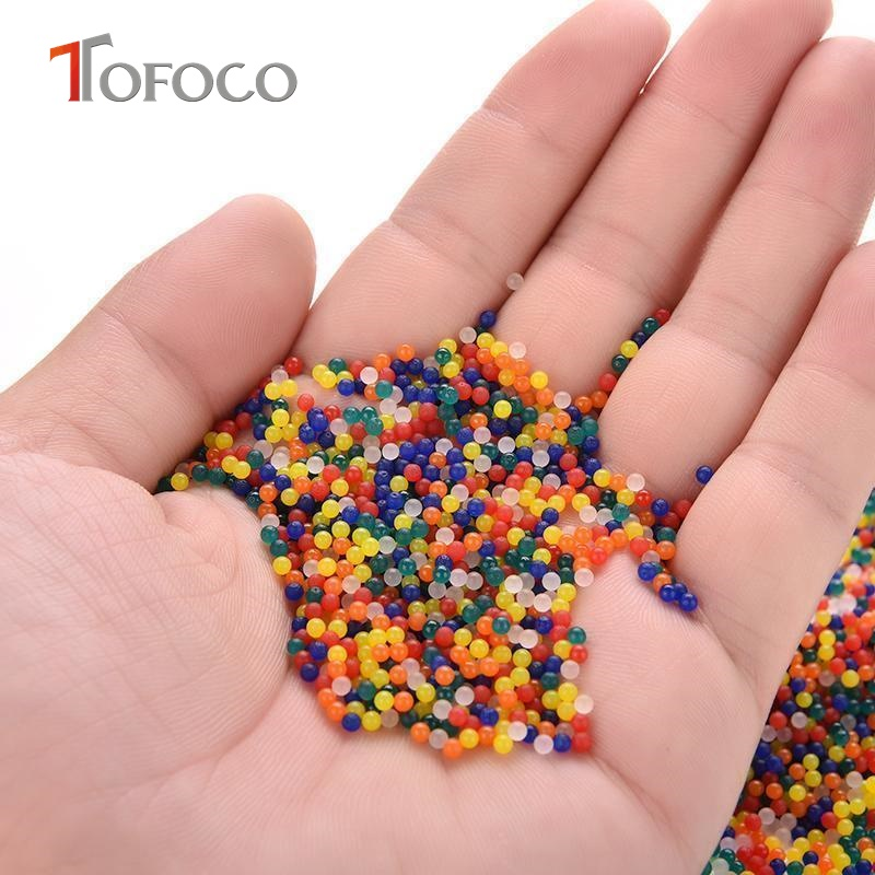 TOFOCO-10000pcspack-colorful-orbeez-soft-crystal-water-paintball-gun-bullet-grow-water-beads-grow-balls-water-toys-for-Kids-4