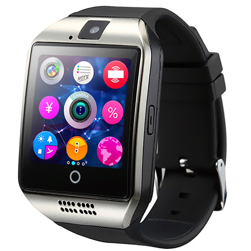Smart Watch Pedometer Sleep Moritor Support TF SIM Card Bluetooth Camera smartwatch for Android IOS Xiaomi Huawei phone in Smart Watches from Consumer Electronics