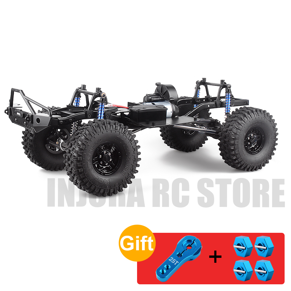 RC Crawler 12.3inch 313mm Wheelbase Frame Chassis For 1/10 RC Climbing Car SCX10 II 90046 90047