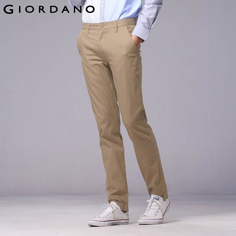 Images of Mens Slim Fit Khakis - Kianes