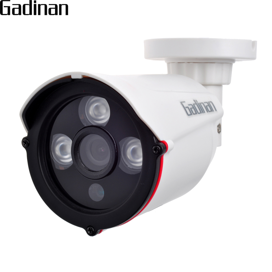 GADINAN 720P 960P 1080P 2 8mm Wide Angle Outdoor Security Waterproof Night Vision P2P CCTV ONVIF