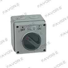 *32A three phase 3 pole Weather protected Isolator switch IP66 56SW332