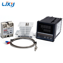 LJXH Temperatuur Controller REX C700 Thermokoppel Universele Ingang SSR Output/K Type Thermokoppel/Solid State RELAIS/Koellichaam
