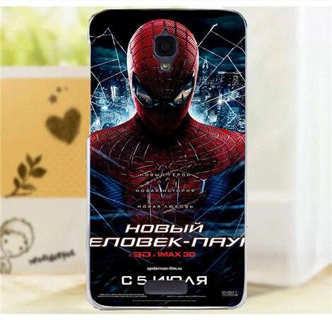 Deadpool Marvel Comic Superhero iron Man Spider-Man Print Cell Phone Case  For Fundas Lenovo S660 Cases Cover Capa Skin Shell