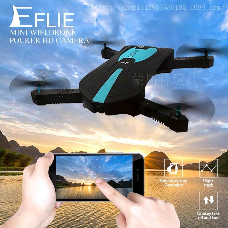 Pocket Selfie Drone JY018 Elfie Foldable Mini Selfie Drones RC Quadcopter WiFi FPV 720P HD G-sensor Headless Mode Helicopter H37