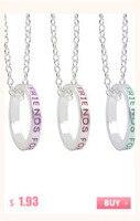 из 2 предметов лучшие друзья цепочки и ожерелья ювелирные изделия на Ti Chi подвески черный, белый цвет пары номинальной цепочки и ожерелья для для мужчин для женщин подарок