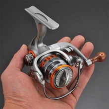 mini fishing reel saltwater 12+1 BB spinning fishing reel for sea 5.2:1 Gear ratio Metal Left Right Hand fishing wheel Tackles sougayilang feeder spinning fishing reel china left right reel fishing gear coil 12 1 ball bearing metal sea fishing reel peche