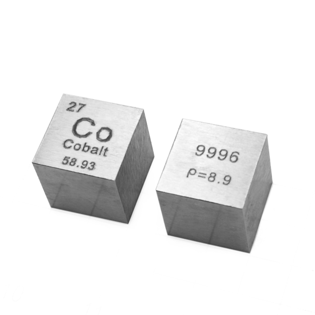 High Pure 10 X 10 X 10mm Wiredrawing Cobalt Cube Periodic Table Of Elements Cube For Lab Education Collection(Co≥99.96%)