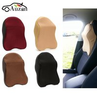 Car Seat Headrest Pad Memory Foam Neck Pillow Head Neck Rest Support Cushion Travel For Renault