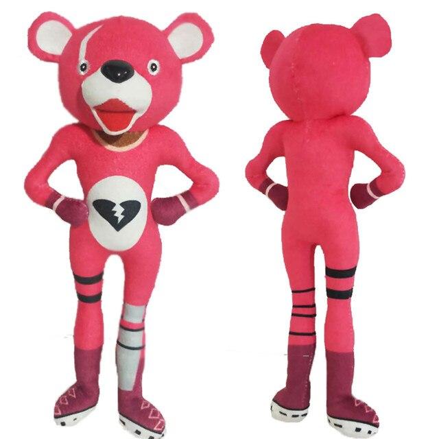30cm Adorable Playful Irresistible Cartoon Soft Pink Bear Doll Stuffed Toy Plush Doll Toys 2018 4