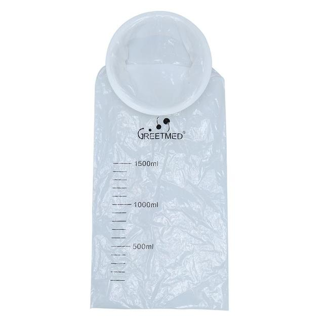 15pcs 1500ml Disposable Sick Puke Bag Vomit Travel Or Emergency Hospital Air Sickness Emesis
