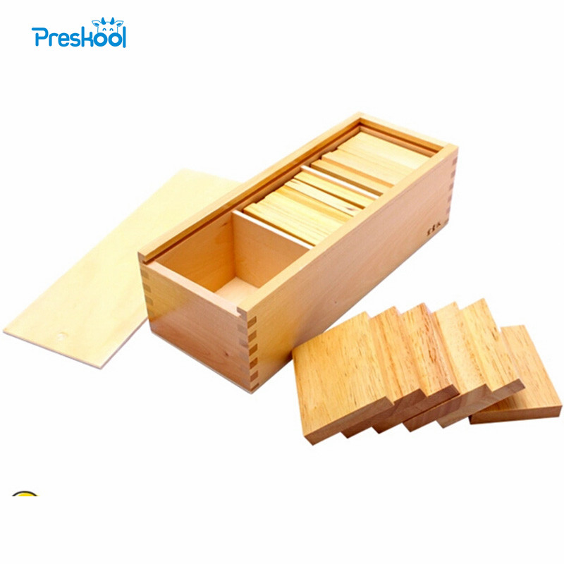 Montessori Weight Board Baby Toy Baric Tablets with Box Early Childhood Education Preschool Training Learning Toys Great GiftMontessori Weight Board Baby Toy Baric Tablets with Box Early Childhood Education Preschool Training Learning Toys Great Gift