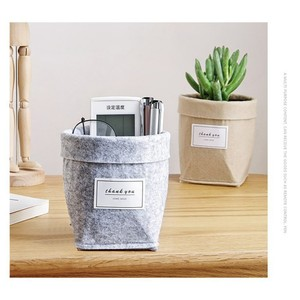 1pc Flower Desktop Storage Bas