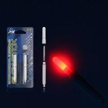 2PCS Electronic Light Sticks Night Fishing Float Rod Light Water Proof Fish Gathering Glow Lamp Lights Luminous Sticks for Net