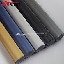 Air Drain película de vinilo de aluminio cepillado, negro, plateado y azul, pegatina de vinilo de coche cepillado metálico tamaño: 10/20/30/40/50/60x15 2 cm/lote