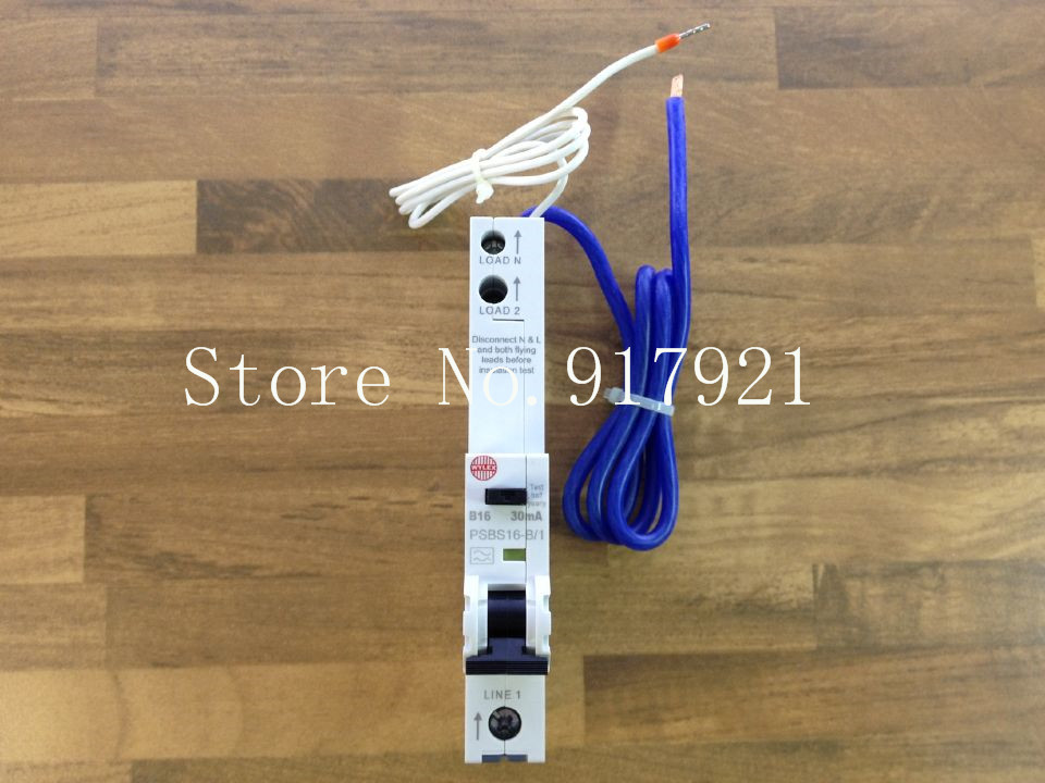 [ZOB] The German WYLEX PSBS16-B/1 leakage protector compact leakage protection switch 30MA 1P16A imported --5pcs/lot