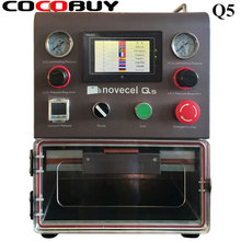 Good Quality Q5 LCD Laminating Machine LCD Glass OCA Laminator For Phone Screen Repair Curved Flat Tablet Display YMJ Mold 500w 5 in 1 multifunction oca laminator machine lcd screen laminating refurbishing machine with bubble remover