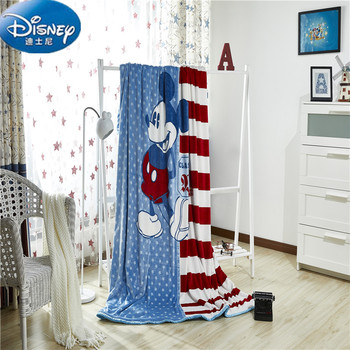 Disney Authentic Mickey Mouse Blankets Throws Bedding 200x230CM Queen Size Kids Bed Home Bedroom Decoration
